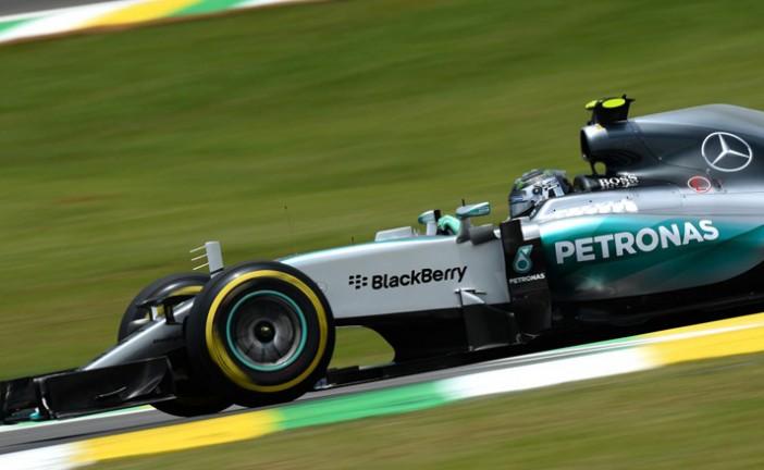 Fórmula 1: Rosberg logra su quinta pole consecutiva de este año en Interlagos