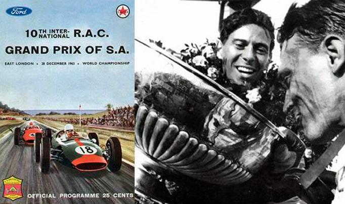 28 de Diciembre de 1963, Jim Clark lograba su décima victoria en Fórmula 1