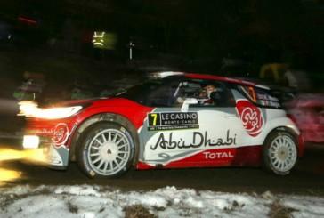 WRC: Meeke al frente del Rally Monte Carlo