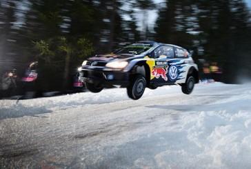 WRC: Ogier sigue adelante a pesar que la nieve lo puso en apuros