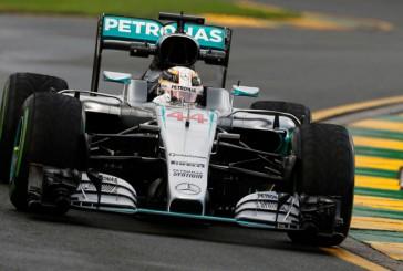 Fórmula 1: Hamilton lideró los Libres 1 y los Libres 2