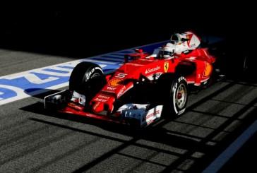Fórmula 1: Sebastian Vettel lideró el último dia de test