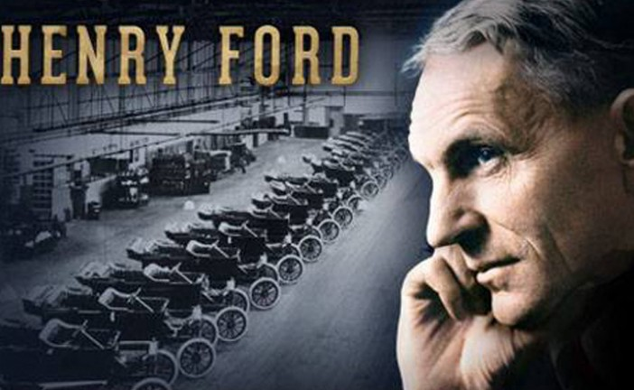 07/04/1947, nos dejaba Henry Ford