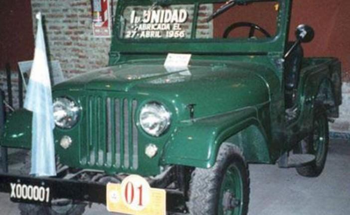 27 de abril de 1956, salía a la luz el primer JEEP Argentino