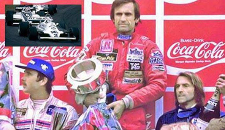 17 de mayo de 1981, «Lole»  Reutemann ganaba por última vez en F1