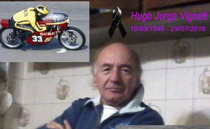 Nos dejó Hugo Vigneti…múltiple campeón del motociclismo