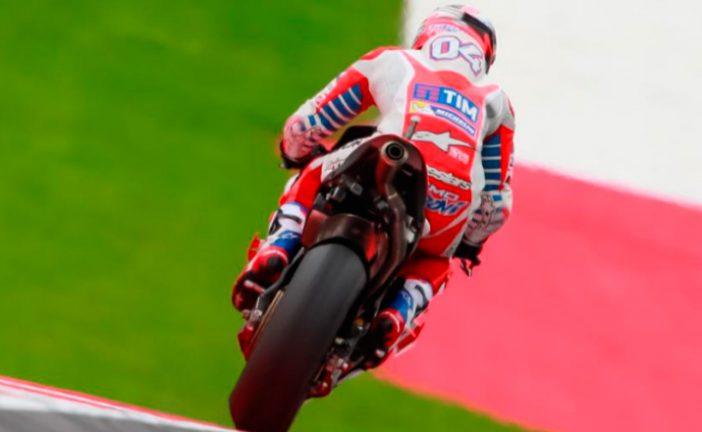 MotoGP: Dovizioso se impuso en la FP2