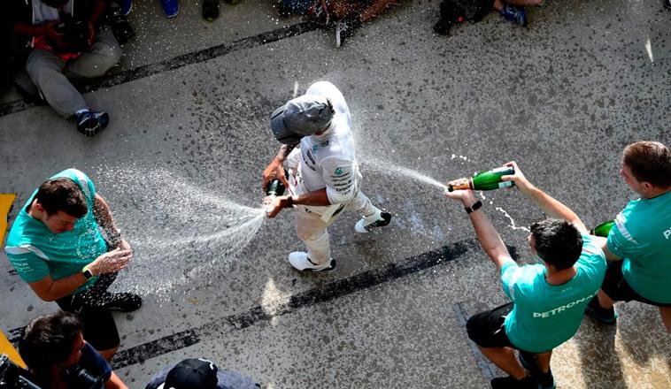 Fórmula 1: Hamilton entra en el club de Schumacher y Senna