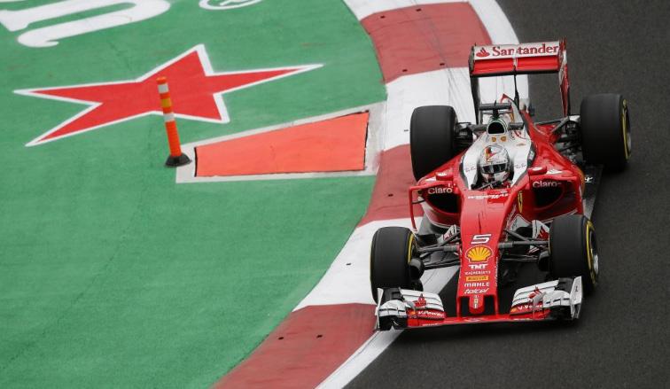 Fórmula 1: Vettel sorprende en los Libres 2 de México