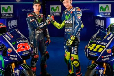 MotoGP: Yamaha presentó la nueva moto