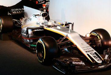 Fórmula 1: Force India presenta en sociedad el VJM10