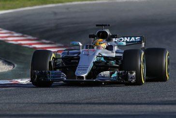 Fórmula 1: Hamilton lidera los tests con Vettel al acecho