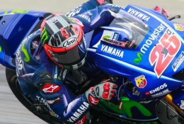 MotoGP: Viñales domina el test de Sepang