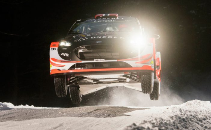 WRC: Ostberg gana el Shakedown sueco