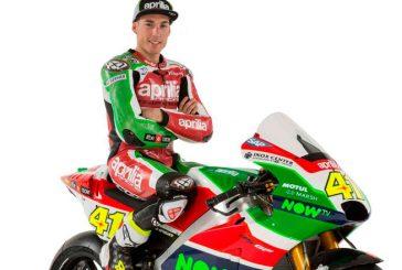 MotoGP: Aprilia presentó al equipo para 2017