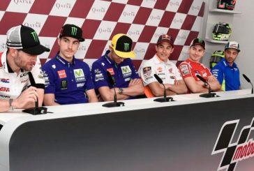 MotoGP: Concluyó la rueda de prensa previo a la GP de Qatar