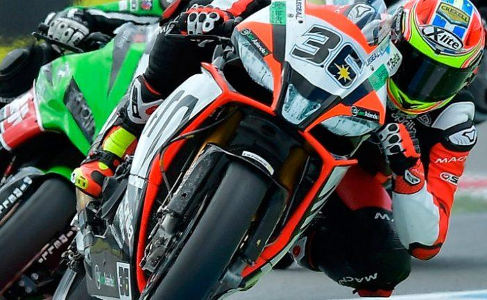 Super Bike: «Tati» Mercado terminó 12º