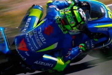 MotoGP: Ianonne tuvo «uno de los mejores test con Suzuki» en Jerez