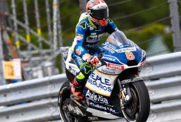 MotoGP: Barberá se destacó en piso mojado