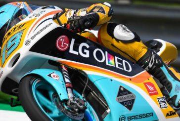 Moto3: Segunda Pole consecutiva para el argentino Rodrigo