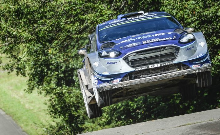 WRC: Tänak estira la ventaja