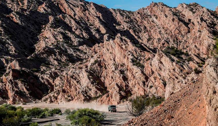 Rally Dakar: El «Coyote» sigue haciendo historia!!!. Etapa 12 / Fiambalá – Chilecito – San Juan