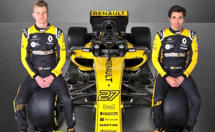Fórmula 1: Renault sacó a la luz el R.S.18