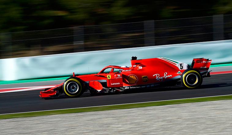 Fórmula 1: Vettel lleva a Ferrari a un gran récord de pista en Barcelona