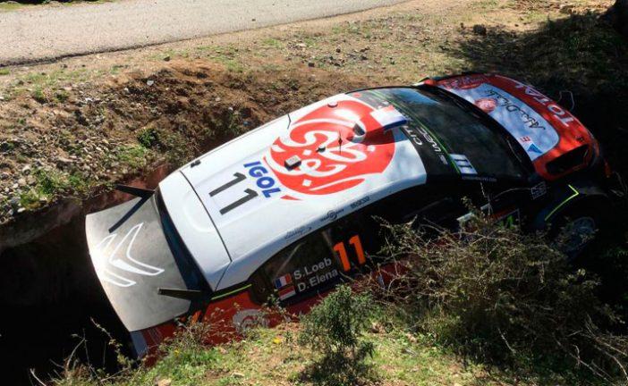 WRC: Scratch de Ogier y abandono de Loeb