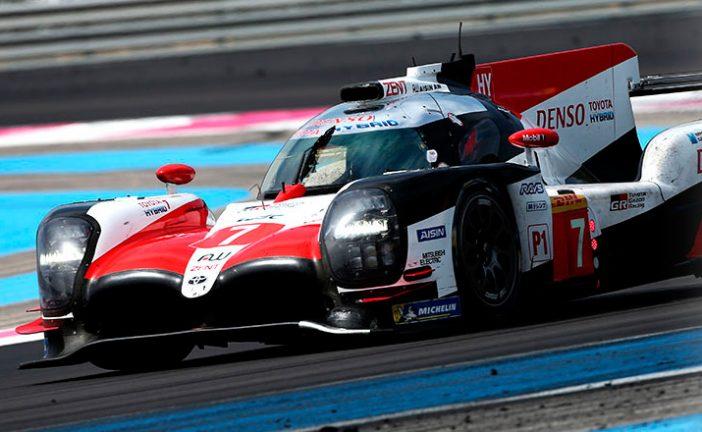 WEC: El equipo Toyota se prepara en Spa