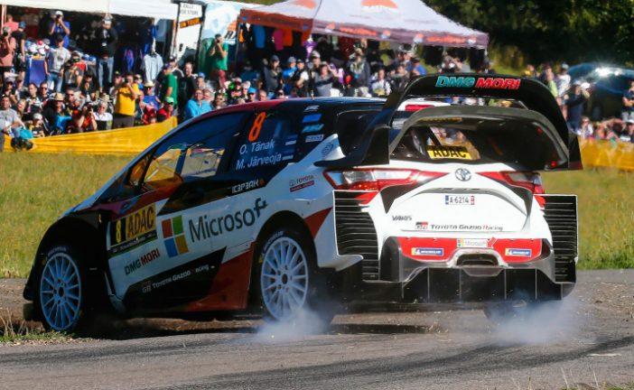 WRC: Tänak mete un Hat-Trick