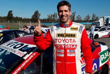 TN C3: Castellano le dedicó la pole a su papá «Pincho»