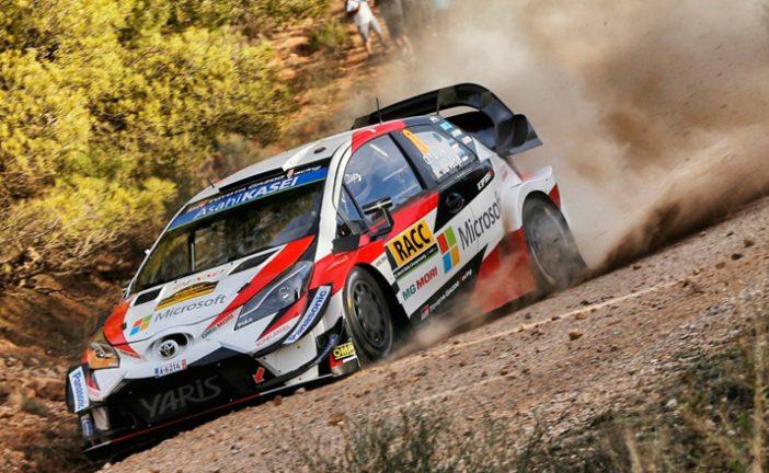 WRC: Tänak se escapa en el Rally de España