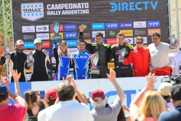 Rally Argentino: Padilla se llevó todo