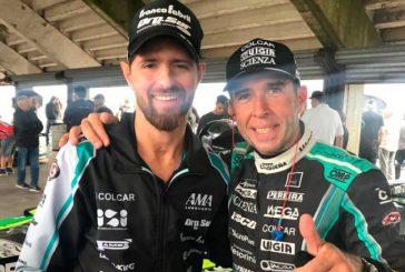 TC: El «Pato» Silva ya giró con el auto de Giallombardo