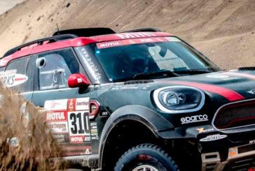 Rally Dakar: Día 2 / Orly Terranova sufrió un fuerte golpe y tuvo que abandonar el Dakar 2019