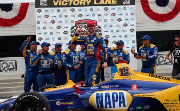 Indy Car: Paliza de Rossi en Road America