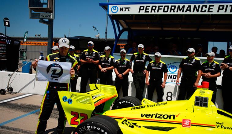 Indy Car: Pagenaud logra la pole position