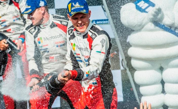 WRC: Tänak voló en Finlandia