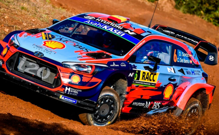 WRC: Sordo lidera el doblete de Hyundai