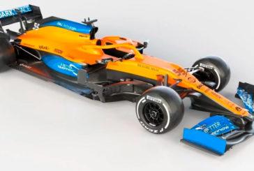 Fórmula 1: McLaren presenta el MCL35 de Sainz y Norris