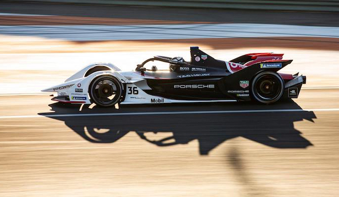 Fórmula E: Lotterer pone arriba a Porsche