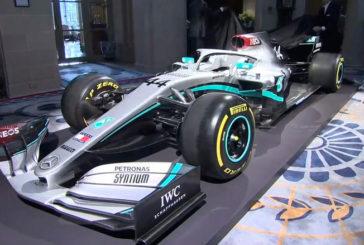Fórmula 1: Mercedes devela su diseño 2020
