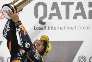 MotoGP: Nagashima y Arenas conquistan la primera del año