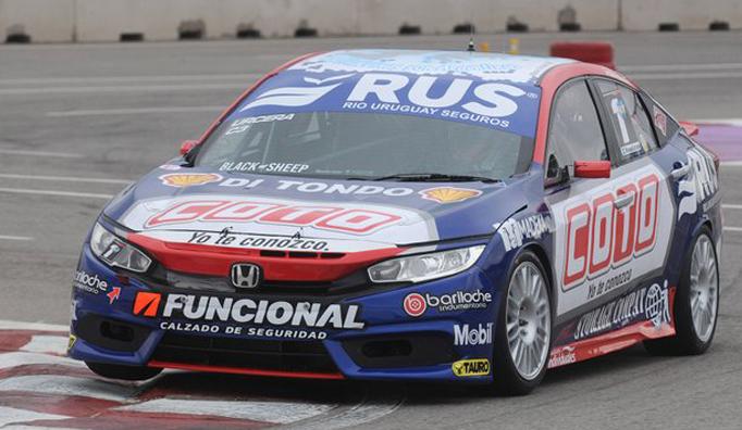 TN C3: Urcera el más rápido en la clasificación