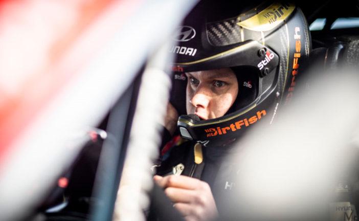 WRC: El campeón Tänak volvió a la acción después de 2 meses