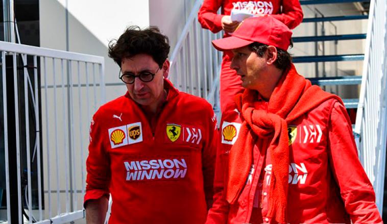 Fórmula 1: Elkann renueva la confianza en Binotto: «Tiene las virtudes necesarias»