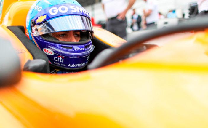 Indy Car: Alonso inicia en Indianápolis el camino hacia la Triple Corona