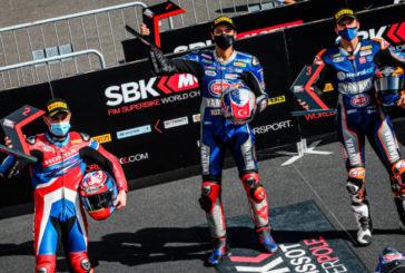 Super Bike: Razgatlioglu logra la pole en una dramática clasificación; Mercado larga en el puesto 16º