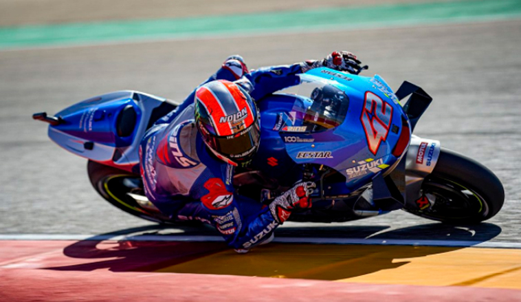 MotoGP: Álex Rins supera a Álex Márquez para ganar el GP de Aragón